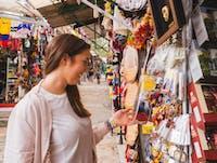 IVHQ volunteer exploring the markets of Bogota, Colombia