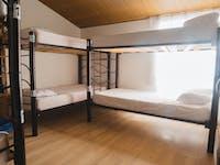 Volunteer bedroom in Colombia, Bogota with IVHQ