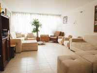 Volunteer living room in Colombia, Bogota with IVHQ