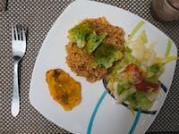 Cartagena IVHQ volunteer dinner