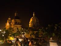 Exploring Cartagena, Colombia at night