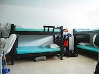IVHQ volunteer bedroom in Cartagena