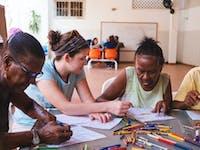 Community volunteer in Cartagena with IVHQ