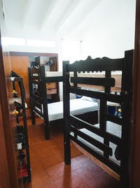 Cartagena IVHQ volunteer bedroom