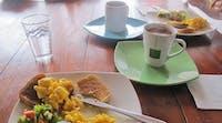 Volunteer meals breakfast in Colombia - Cartagena