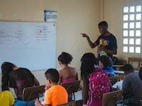 IVHQ Teaching volunteers in Colombia, Cartagena