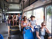 IVHQ volunteer transport in Cartagena, Colombia