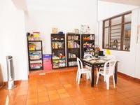 Cartagena IVHQ volunteer work space