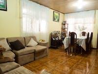 IVHQ volunteer house living room in San Jose, Costa Rica