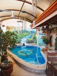 IVHQ volunteer house pool in Manuel Antonio, Costa Rica