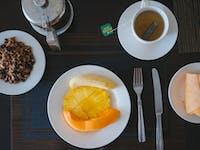 Volunteer breakfast in San Jose, Costa Rica with IVHQ