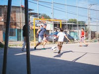 IVHQ Childcare volunteer playing sports in Costa Rica