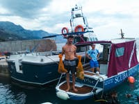 Marine Conservation volunteers in Croatia with IVHQ