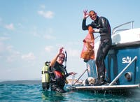 IVHQ Marine Conservation Divers in Croatia