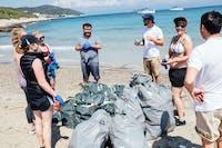 IVHQ Beach cleanup in Croatia