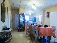 IVHQ volunteer dining room in Santa Elena, Ecuador