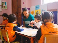 IVHQ volunteer in Ecuador on the Childcare project