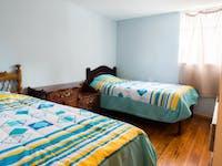 IVHQ volunteer bedroom in Quito, Ecuador