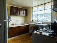 IVHQ volunteer kitchen in Quito, Ecuador