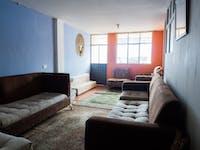 IVHQ volunteer living room in Quito, Ecuador
