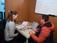 IVHQ volunteer Spanish Class in Quito, Ecuador