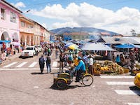 Explore Quito Markets during an IVHQ weekend