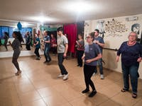 IVHQ volunteer Salsa Class in Quito, Ecuador