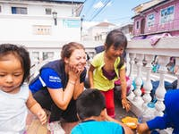IVHQ Volunteers on the Street Children Work project in Ecuador
