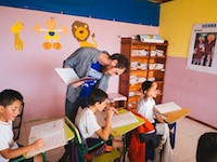 IVHQ volunteer in Ecuador on the Teaching English project