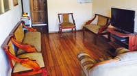 IVHQ Ecuador common room at a volunteer home-stay