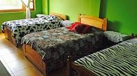 Volunteer accommodation dorm room in Ecuador
