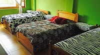 Volunteer accommodation dorm room in Ecuador