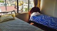 Volunteer accommodation - twin room in Ecuador