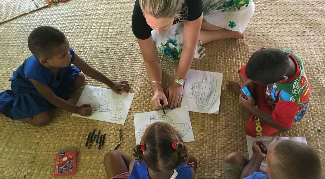 Volunteer in Kindergarten in Fiji