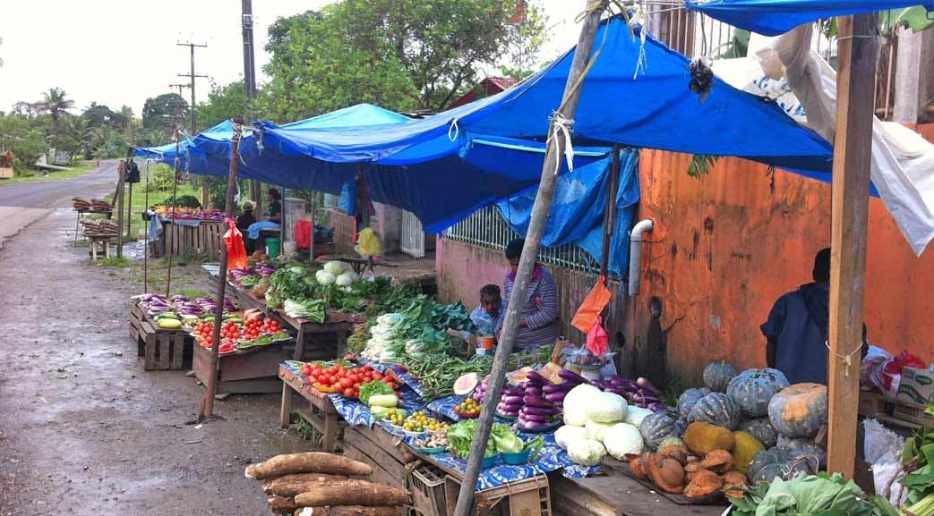 Fresh food markets in Fiji