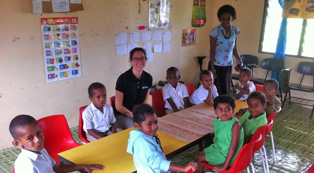 Volunteer as a teacher in Fiji