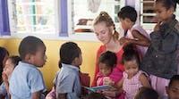 Volunteer teacher with IVHQ in Fiji
