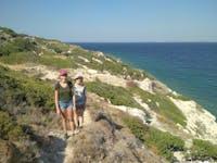 Exploring Greece walking during an IVHQ weekend