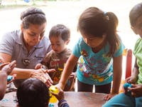 Childcare project volunteer in Guatemala with IVHQ