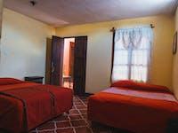 IVHQ volunteer homestay bedroom in Guatemala
