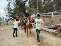 Exploring Guatemala by horseback with IVHQ