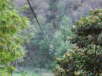 IVHQ Guatemala Zip Lining during a weekend