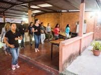 IVHQ Salsa class in Guatemala