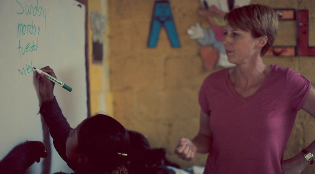 Teaching in Guatemala