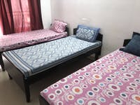 IVHQ volunteer bedroom in India
