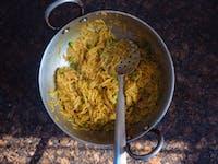 IVHQ volunteer dinner in India
