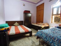 IVHQ volunteer bedroom in Delhi, India