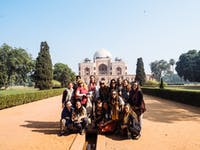 Group of IVHQ volunteers in India, Delhi