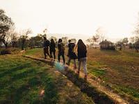 Volunteers Exploring Dharamsala, India