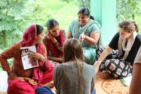 Women's Education volunteer in Dharamsala, India